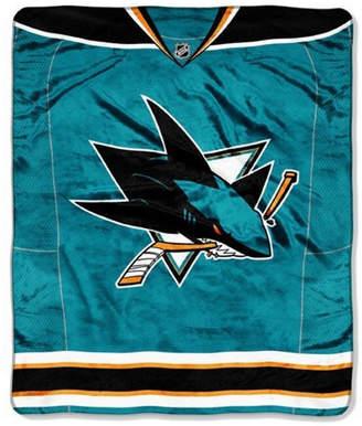 Northwest Company San Jose Sharks 50x60in Plush Throw Jersey