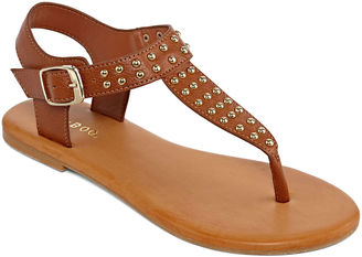 Bamboo Thrive Studded Thong Sandals $19.99 thestylecure.com