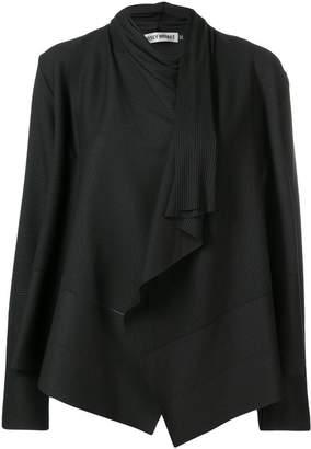 Issey Miyake pleated draped jacket