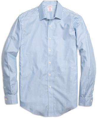 Brooks Brothers Non-Iron Madison Fit Twin Stripe Sport Shirt