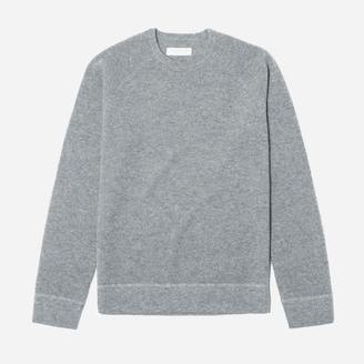 The Waffle-Knit Cashmere Crew $145 thestylecure.com