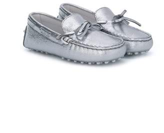Tod's Kids metallic loafers