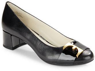 Anne KleinAnne Klein Hastobe Leather Slip-Ons