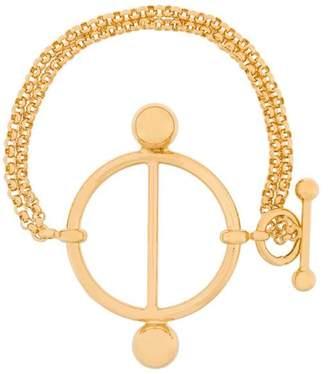 J.W.Anderson Disc bracelet