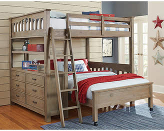 LOFT Viv + Rae Gisselle Twin over Twin L Bunk Beds