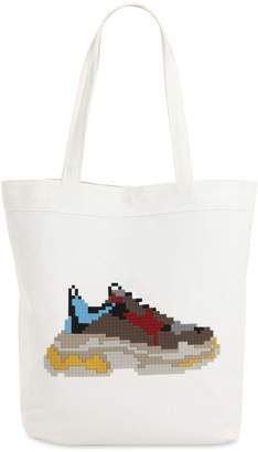 8 Bit By Mhrs Dadcore Cotton Tote Bag