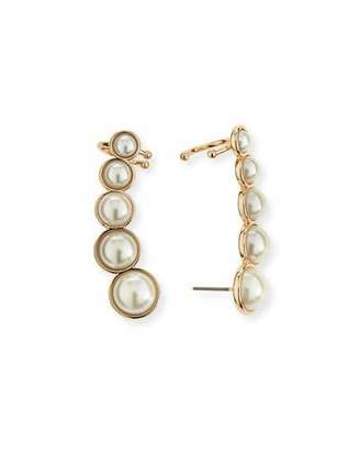 Lulu Frost Simulated-Pearl Ear Crawlers $138 thestylecure.com