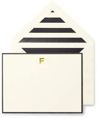 Kate Spade Monogram Correspondence Cards - Set Of 10