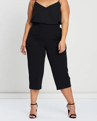 Evans Pebble Pocket Crop Trousers