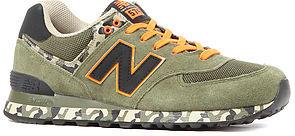 New Balance The Camo 574 Sneaker