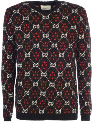 Gucci Pattern Detail Sweater