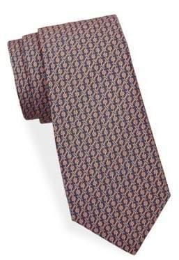 Saks Fifth Avenue Chain Link Silk Tie