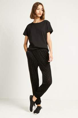 French Connenction Edna Devore Jersey Gathered Ankle Joggers