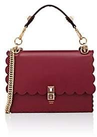 Fendi Women's Kan I Leather Shoulder Bag - Red