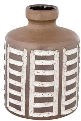 Sgraffito Studio Ceramic Vase