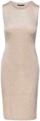 Sheri Bodell Crystal Overlay Dress