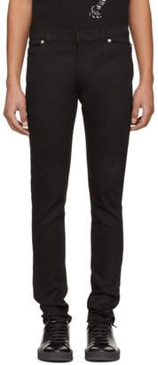Balmain Black Six-Pocket Jeans