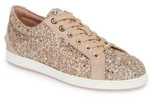 Jimmy Choo Cash Glitter Sneaker