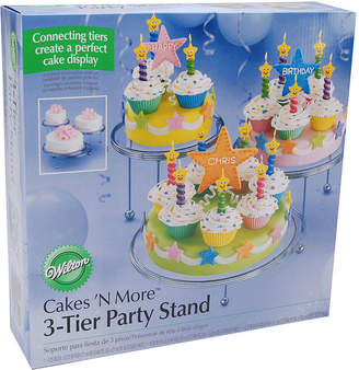N. Wilton Brands Wilton Cakes 'N More 3-Tier Party Stand