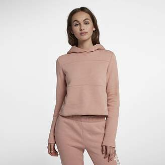 Hurley Womens Cropped Pullover Hoodie