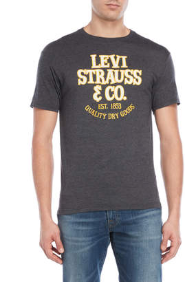Levi's Charcoal Heather Minuet Tee