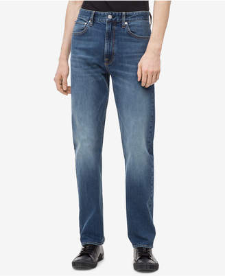 Calvin Klein Jeans Men's Big and Tall Relaxed Straight-Fit Jeans, Ckj 037