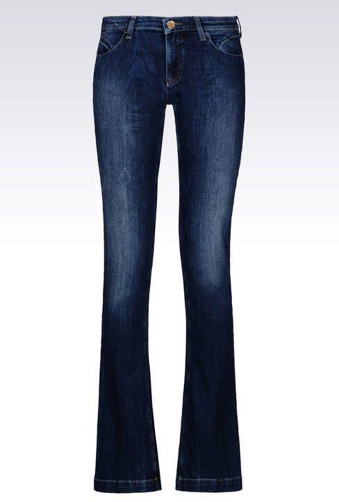 Armani JeansJ07 Regular Fit Dark Wash Jeans