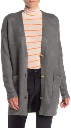 Elodie K Long Sleeve Patch Pocket Cardigan