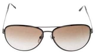 Burberry Tinted Aviator Sunglasses