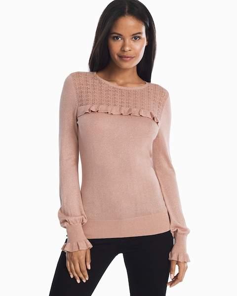 Mini Ruffle Sweater