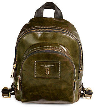 Marc Jacobs Mini Double Pack Leather Backpack