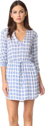 BB Dakota Daniella Plaid Shirtdress $90 thestylecure.com