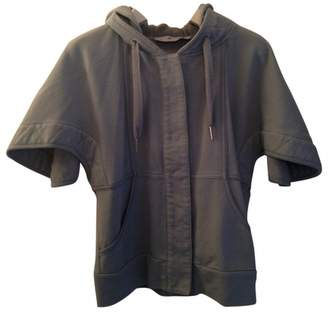 Green Cotton Stella Mc Cartney Pour Adidas Jacket for Women