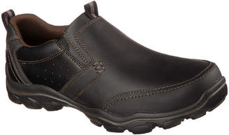 Skechers Devent Mens Moc-Toe Slip-On Shoes
