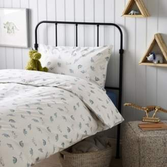 The White Company Pillowcase & Duvet Cover Set, Grey, Cot Bed