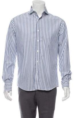 Michael Bastian Striped Woven Shirt w/ Tags