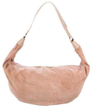 The Row Suede Sling 15 Hobo