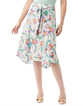 Review Paradise Floral Skirt