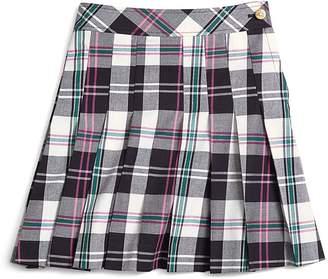 Pleated Tartan Skirt $75 thestylecure.com
