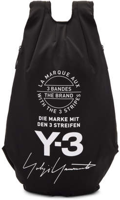 Y-3 Black Yohji Backpack