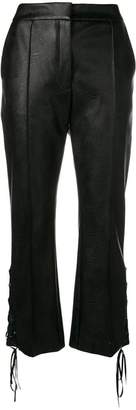 Stella McCartney flared lace-up side trousers
