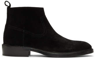 Tiger of Sweden Black Suede Barant S Boots