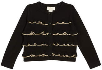 Kate Spade Ruffle-Front Cardigan, Size 12-24 Months