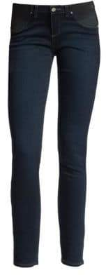 Paige Verdugo Skinny Ankle Maternity Jeans