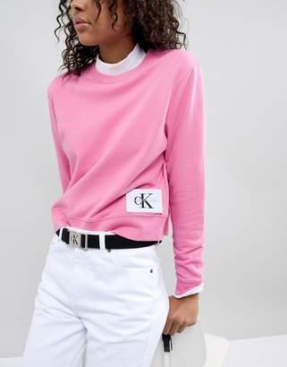 Calvin Klein Reissue Logo Webbing Belt
