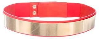 Stella McCartney Satin Waist Belt