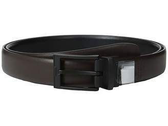 Perry Ellis Portfolio Buckle Reversible Big Tall Dress Belt