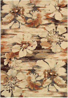 """Couristan Taylor Mosaic Florals 2'7"""" x 7'10"""""""