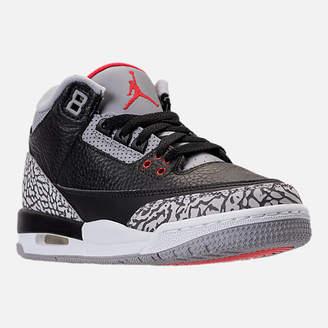 Nike Kids' Grade School Air Jordan Retro 3 Basketball Shoes