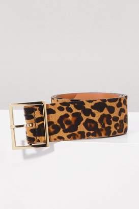 MAISON BOINET Leopard belt